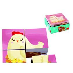 Cubic puzzle granja - 45553417