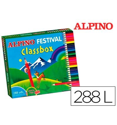 Lapiz color alpino festival colores 288ud - 59107