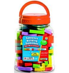 Sentence building dominoes - 612943