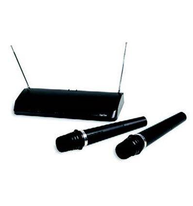 SISTEMA INALAMBRICO VHF 2 MICROS MANO - 902211