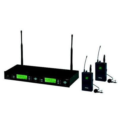 SISTEMA INALAMBRICO UHF 2 MICROS SOLAPA + PETACA - 902892