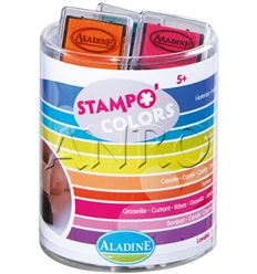 Almohadillas stampokids 10 colores candy - 9403370