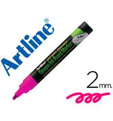 Bolsa 4 rotuladores artline pizarra verde / color violeta - 52820