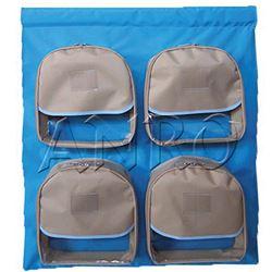 Bolsillo con cierre para pared 4 mochilas - 370106C