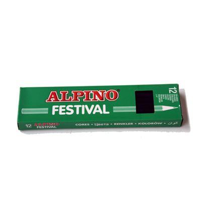 LAPIZ COLOR ALPINO FESTIVAL 12UD AZUL OSCURO - 39011