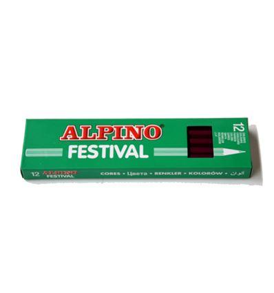 LAPIZ COLOR ALPINO FESTIVAL 12UD VIOLETA - 39012