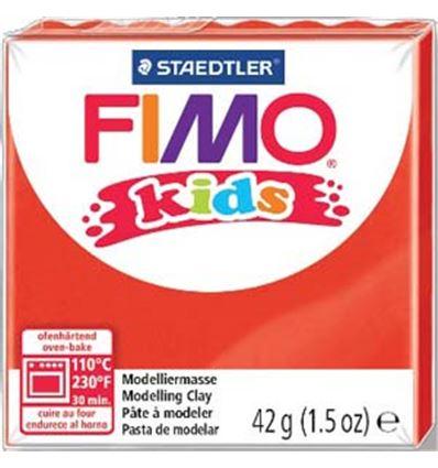 Pasta staedtler fimo kids 42g rojo - 8080302