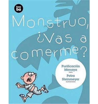 """Libro """"monstruo, ¿vas a comerme?"""" - 70530279"""