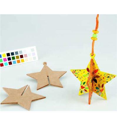 Estrellas de madera - 309340232