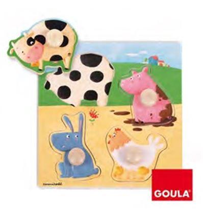 ENCAJES FRIENDS AND FAMILY ANIMALES DE LA GRANJA - 45553069
