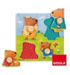 Encajes friends and family familia de osos - 45553119