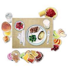 Alimentos saludables magneticos - 610497