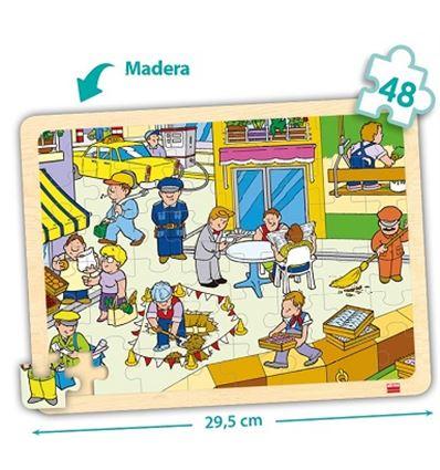 Pack puzzles madera bandeja 48 pzas. lugares - 29052248