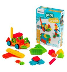 Pegy bricks 36 piezas - PEGY-BRICKS-36PC-16594042