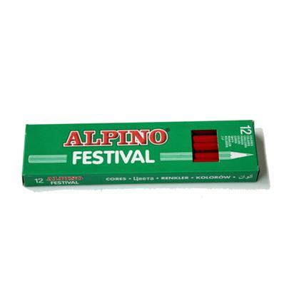 LAPIZ COLOR ALPINO FESTIVAL 12UD NARANJA - 39005