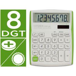 Calculadora citizen cdc-80 verde - 45316