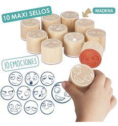 Maxi sello de las emociones - MAXI-SELLO-DE-LAS-EMOCIONES-29020546