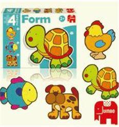 Puzzle form baby tortuga - PUZZLE-FORM-BABY-TORTUGA-40069948