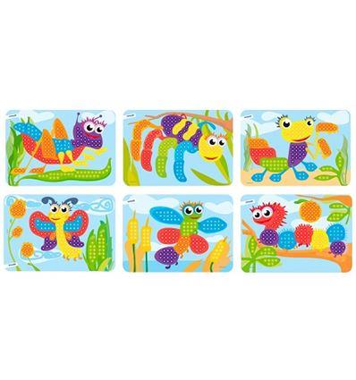 Pack 6 laminas cartulina mosaico 10 mm - PACK-LAMINAS-CARTULINA-MOSAICO-16531862