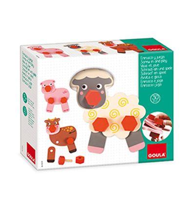 ENROSCA Y JUEGA ANIMALES GRANJA - ENROSCA-Y-JUEGA-ANIMALES-GRANJA-45555239