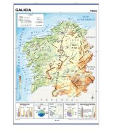 MAPA MURAL EDIGOL F/P 100X140CM ISLAS CANARIAS - MAPA-MURAL-EDIGOL-470418