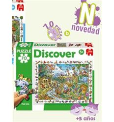 Puzzle discover safari 70 pzas. - PUZZLE-DISCOVER-SAFARI-70-PZAS-40069986