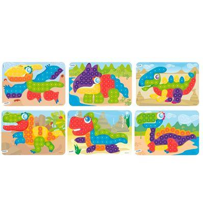 Pack 6 laminas mosaico 20 mm - PACK-LAMINAS-CARTULINA-MOSAICO-16531864