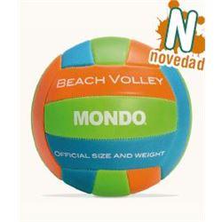 Balon voley cuero beach - Balón-Voley-cuero-58613037
