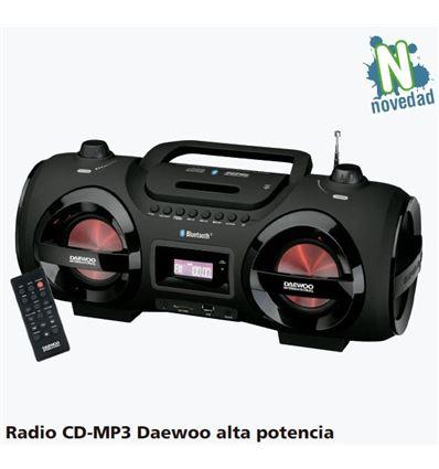 RADIO CD-MP3 DAEWOO DBU-58 25W + 2 SUBWOOFER - RADIO-CD-MP3-DAEWOO-DBU-58-25W+2-39DB58