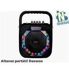 Altavoz portatil daewoo 20w c/led micro y mando - ALTAVOZ-PORTATIL-DAEWOO-20W-39DS360
