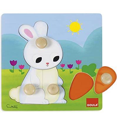 Puzzle pequeños animales conejo - PUZZLE-PEQUEÑOS-ANIMALES-CONEJO-45553054