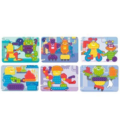Pack 6 laminas mosaico 15 mm - PACK-LAMINAS-CARTULINA-MOSAICO-16531863