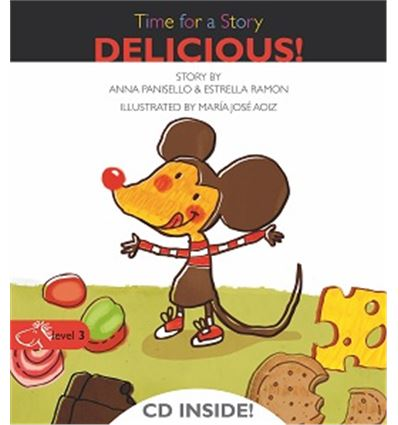 """TIME FOR A STORY """"DELICIOUS!"""" - HASTA FIN STOCK - DELICIOUS-70556093"""