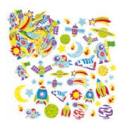 PRECORTADOS IBERTA FOAMY MUNDO ESPACIAL 120UD - PRECORTADOS-IBERTA-FOAMY-MUNDOESPACIAL-950111