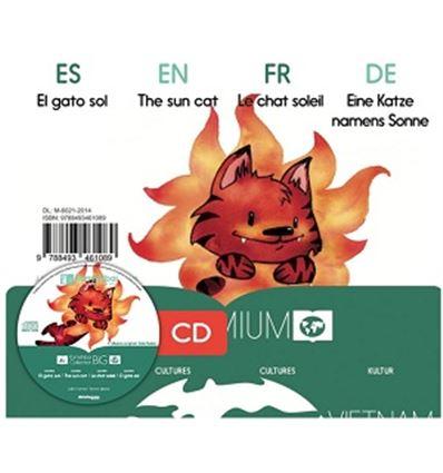 """CUENTO KAMISHIBAI A3 """"EL GATO SOL"""" + CD - GATO-SOL-75761089"""