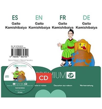 "CUENTO KAMISHIBAI A3 ""GAITO KAMISHIBAIYA"" + CD - GAITO-75765799"