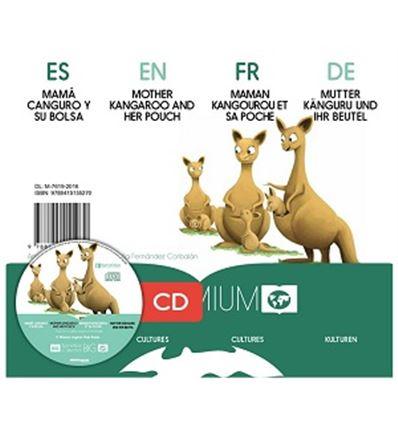 "CUENTO KAMISHIBAI A3 ""MAMA CANGURO Y SU BOLSA"" + CD - MAMA-CANGURO-75755270"
