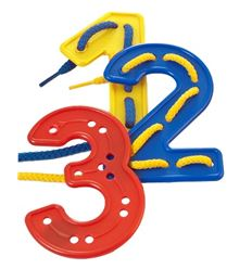 Plantillas para cosido números - logo