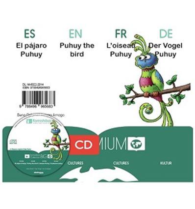 "CUENTO KAMISHIBAI A3 ""EL PAJARO PUHUY"" + CD - PAJARO-PUHUY-75765683"