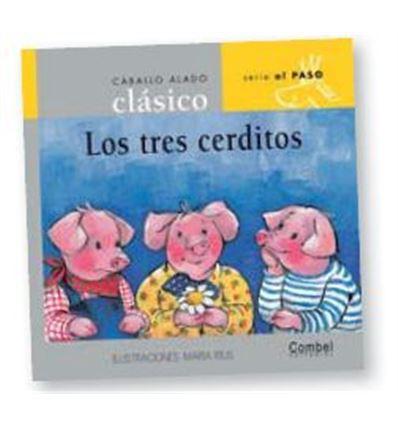 """LIBRO """"LOS TRES CERDITOS"""" - 3CERDITOS-70547651"""
