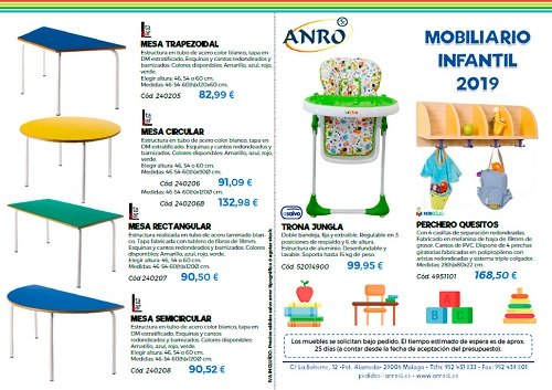 mobiliario infantil oferta
